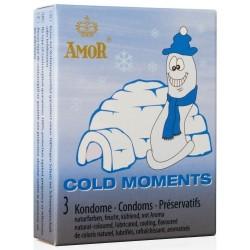 CONDONES COLD MOMENTS 3 UNIDADES