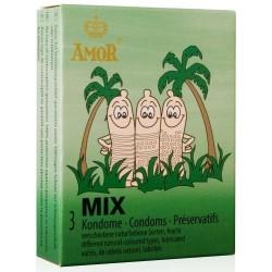 CONDONES MIX 3 UNIDADES